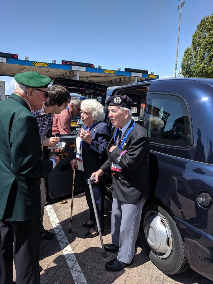 Veterans at Brittany Ferries in Portsmouth