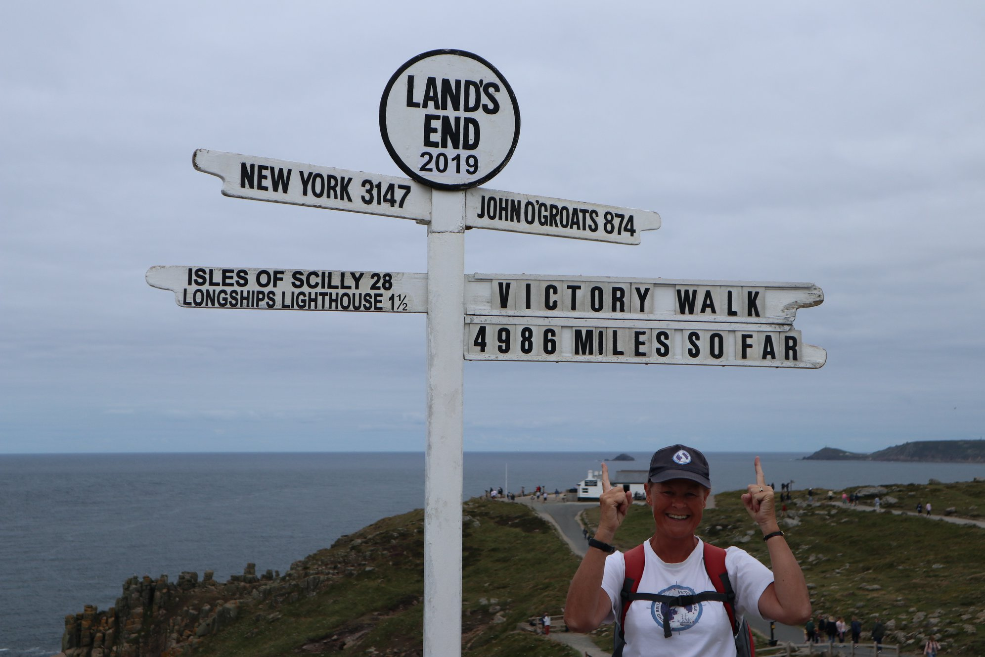 Jane at Land's End