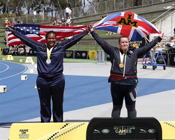 Shot pot glory at the Invictus games for Royal Navy's Emma McCormick