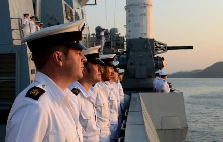 sailors watching