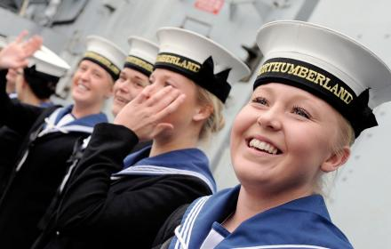 female sailors