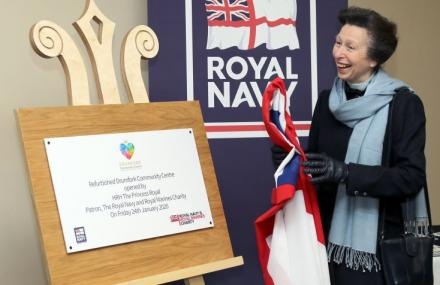 Princess Royal opens Drumfork Community Centre