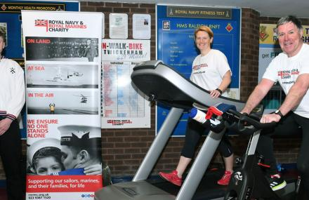 testing their fitness for charity