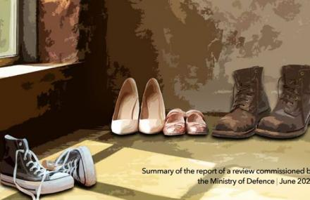 Living In Our Shoes - Forces Families Report