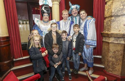 Families attend panto in Southsea