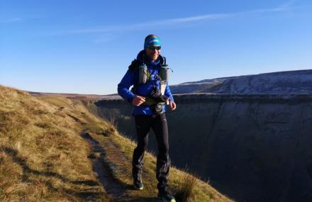 Rob Allen completes the Spine Race